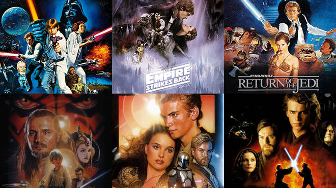 Here's the order you need to watch the Star Wars films in