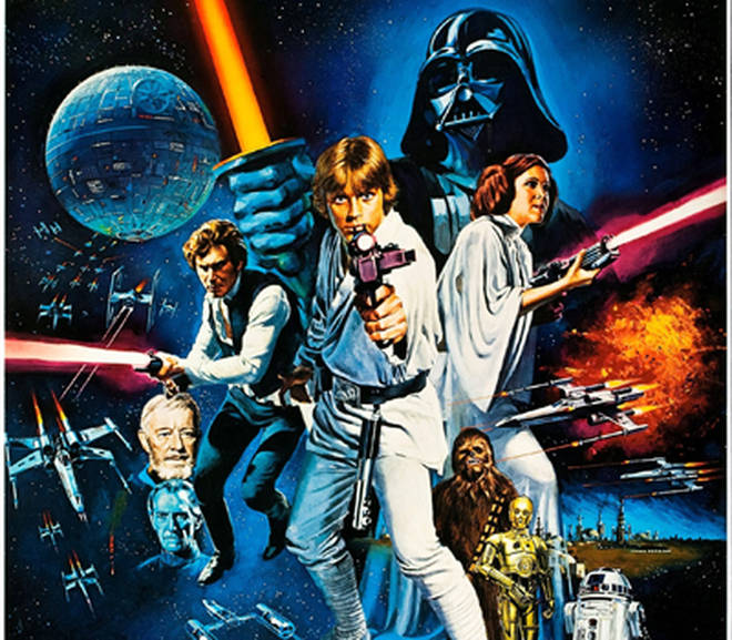 A New Hope was the first of the Star Wars films, released in 1977