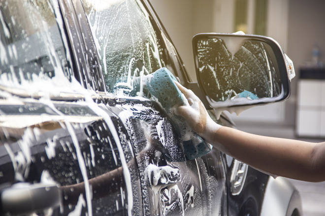 Dr Hilary said the only reason you should be washing your car is if your view is restricted because of the dirt