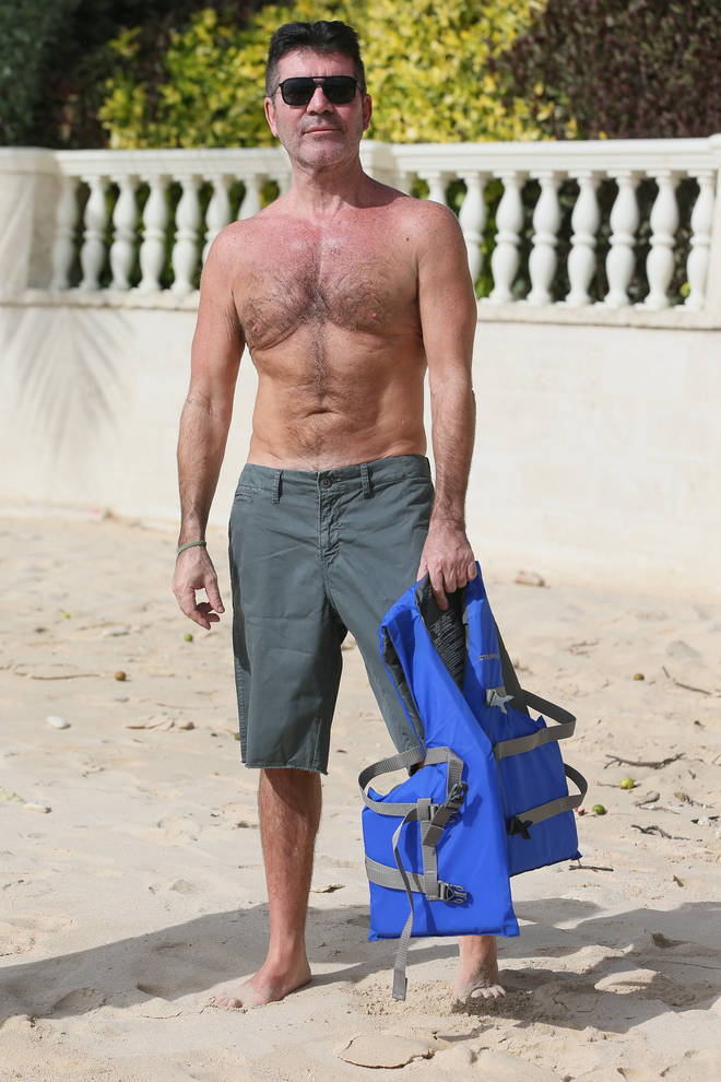 Simon Cowell, 60, showed off his weight loss earlier this year on holiday