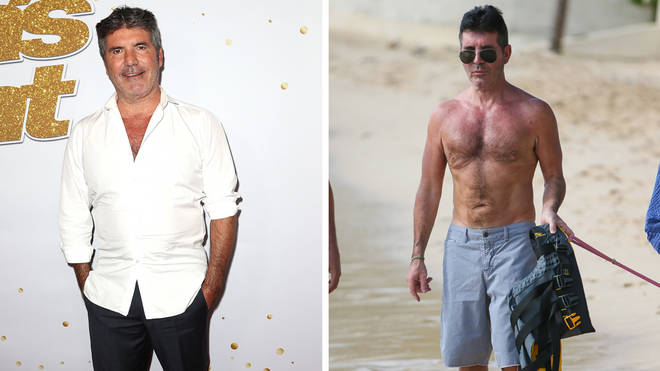 "Simon Cowell said he is ""really happy"" with his new physique"