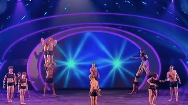 Acrobatics group Spelbound won the title during the fourth series