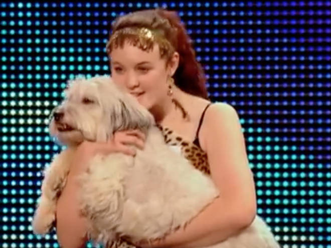 Ashleigh and Pudsey became the first dog act to win BGT in 2012