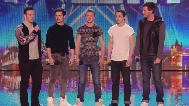 Collabro won Britain's Got Talent back in 2014