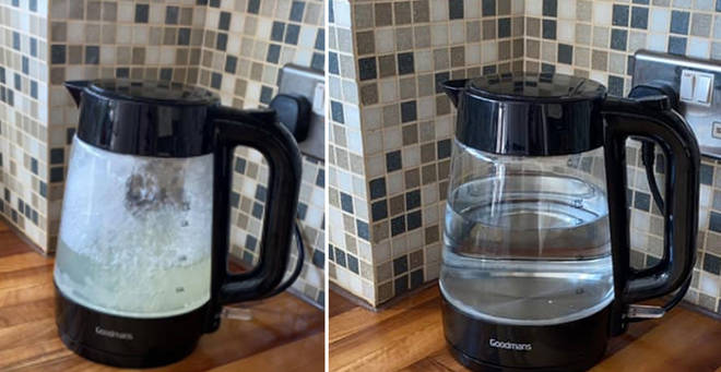A savvy woman revealed her kettle cleaning hack