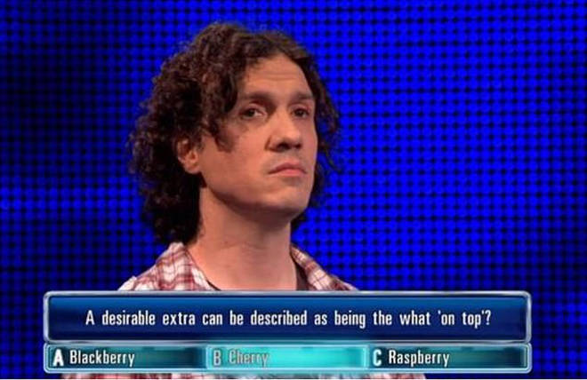 Darragh Ennis appeared on The Chase is March 2017