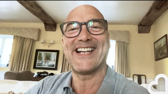 Gregg Wallace chatted from his home via Facetime