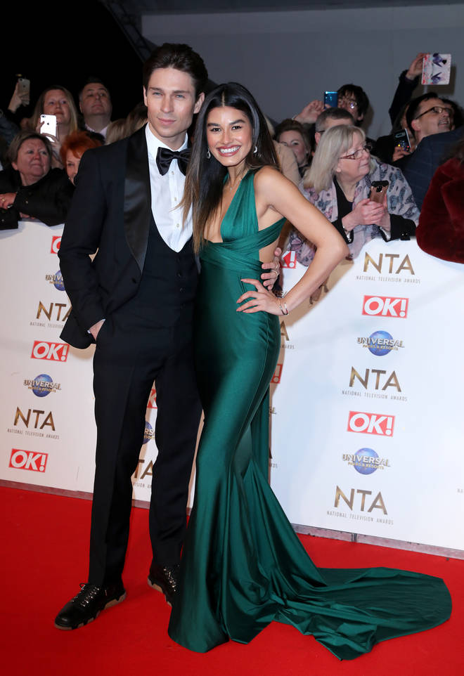 Joey Essex and Lorena Medina walked the NTAs red carpet together
