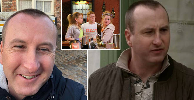 Andrew Whyment has revealed when Coronation Street will be forced off air