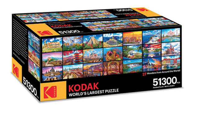 Kodak are selling a 51,300 piece puzzle to keep you entertained during the lockdown