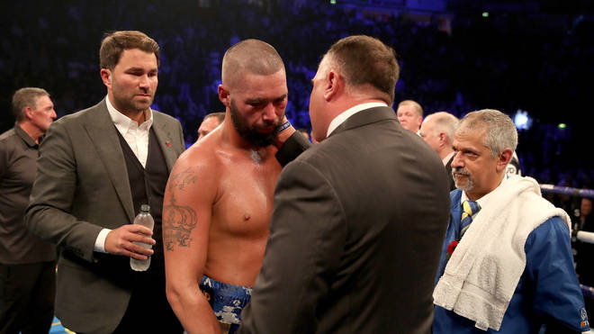 Tony Bellew was defeated by Oleksandr Usyk