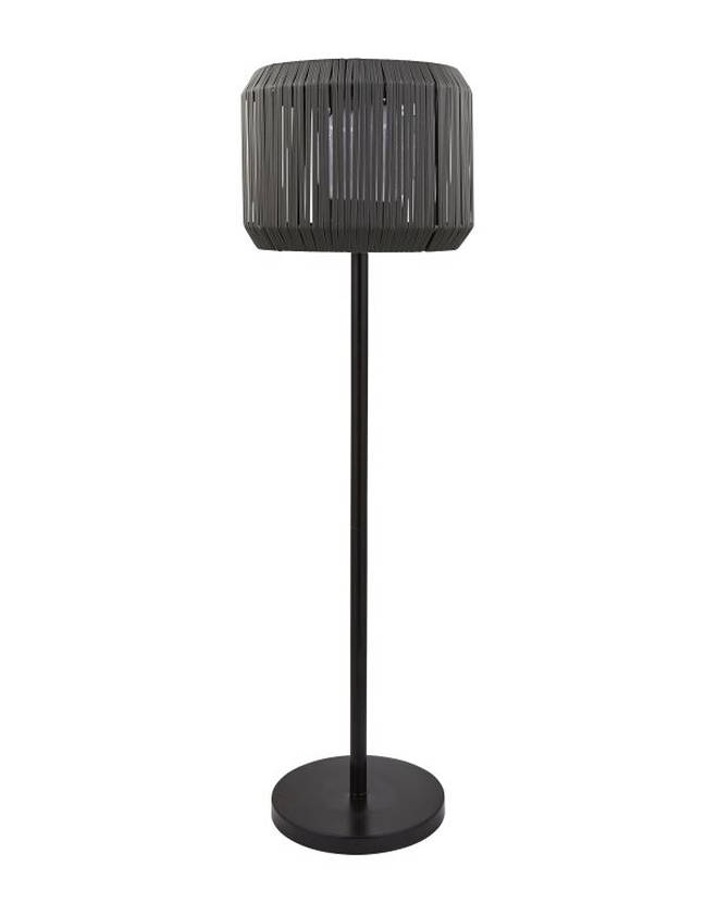 This floor lamp is a quirky way to brighten up alfresco dining - and it's solar powered