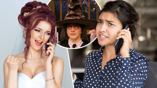 One bride was left red-faced after her guests didn't take kindly to her Harry Potter sorting idea