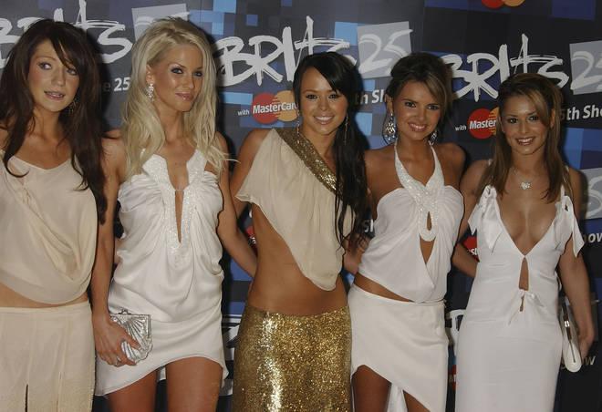 Girls Aloud, in 2005, early in their career.
