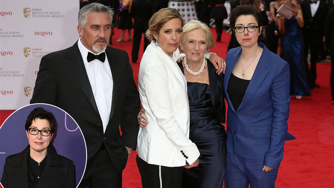Sue Perkins says GBBO team was like a family before their fall-out with Paul.