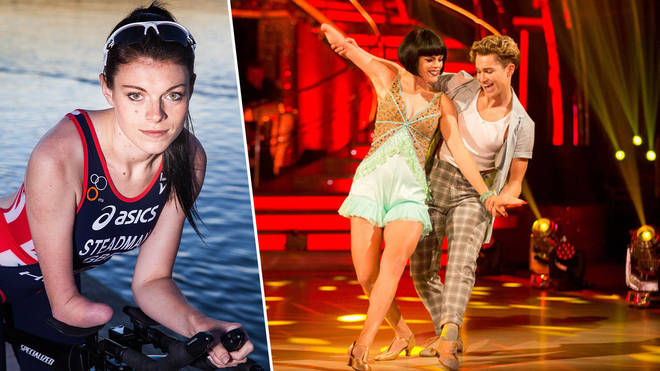 Paralympian Lauren Steadman competed on Strictly Come Dancing with AJ Pritchard.