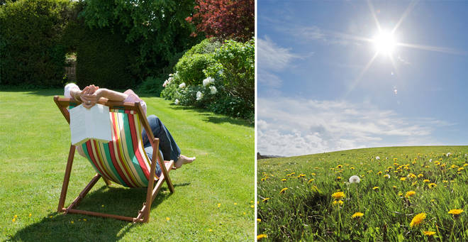Britain will see temperatures soar this week