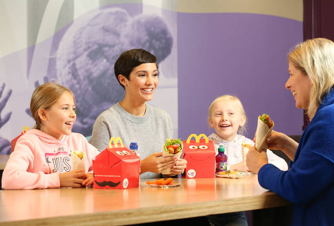 Happy Meals are very popular with young children