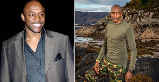 John Fashanu is one of the contestants on SAS: Who Dares Wine