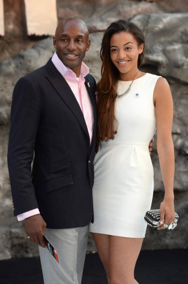 John Fashanu with his daughter Amal