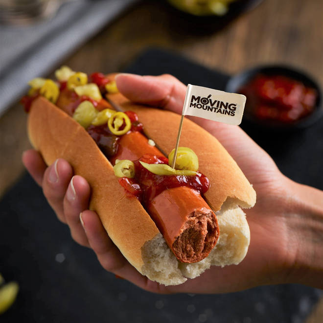 The vegan hot dogs are perfect for BBQs