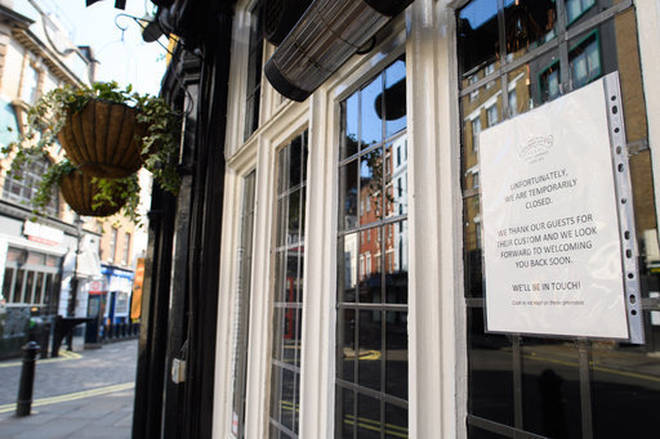 Pubs across the UK remain closed under lockdown rules