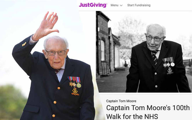Captain Tom's incredible efforts haven't gone unnoticed