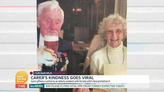 Ken and Aida were married for 71 years after meeting at a dance in Liverpool