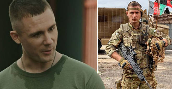 Who plays Cheese in Our Girl and what else has he been in?