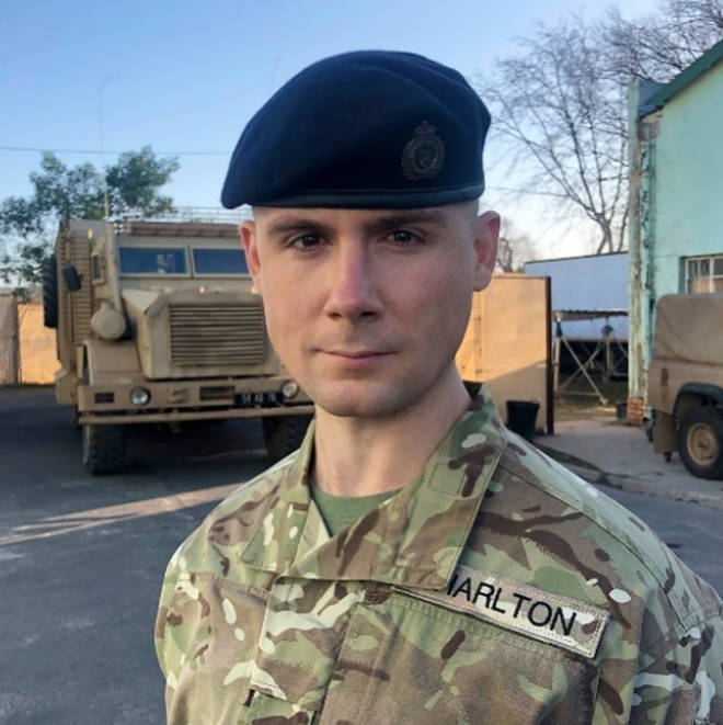 Danny Hatchard plays Cheese in Our Girl