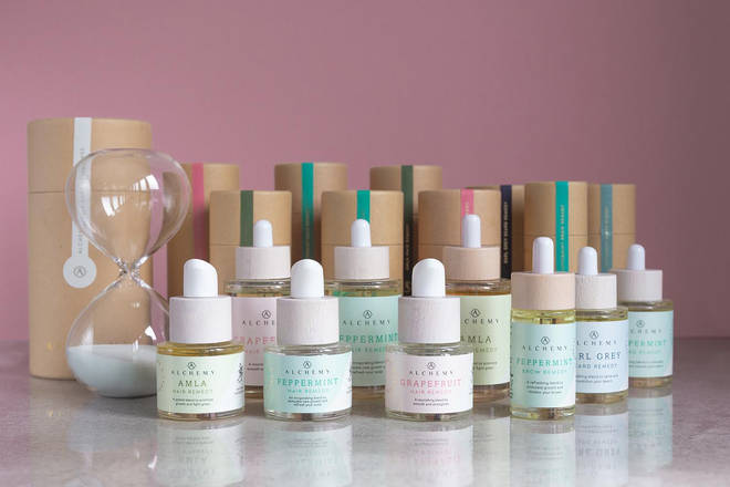 Alchemy Oils come in gorgeous packaging - the perfect lockdown present to yourself