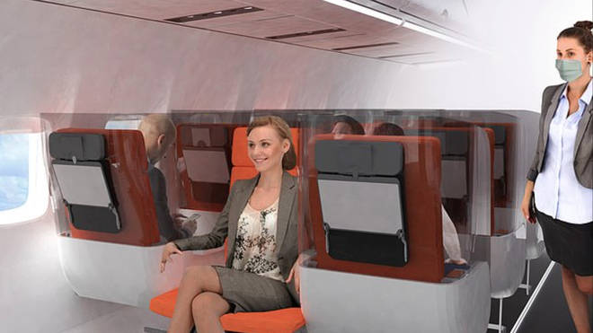 Cabins could feature backwards facing seats