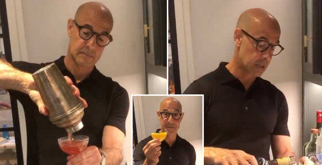 Stanley Tucci made the perfect Negroni