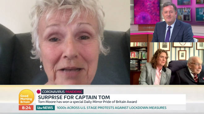 Celebrities sent messages of congratulations to Captain Tom for his achievements