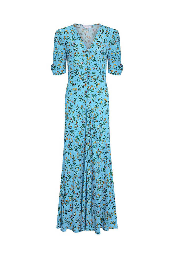 Holly Willoughby's blue dress costs £120 from Ghost