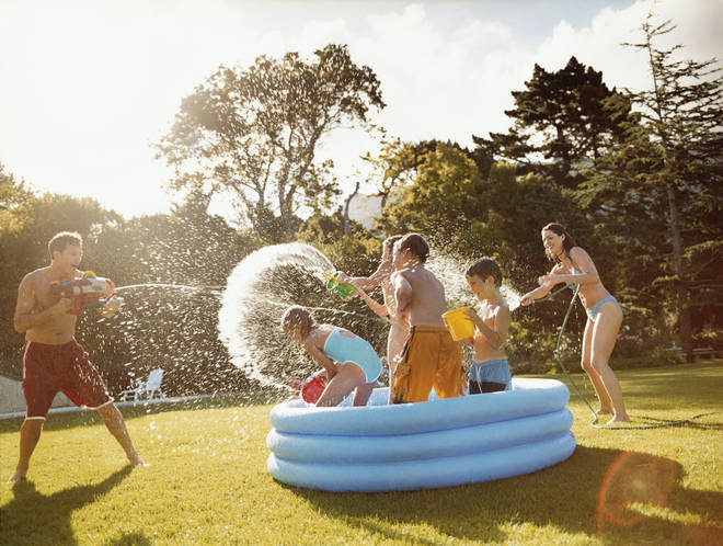 Temperatures could soar to 25C today