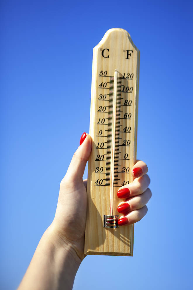 Temperatures might his 25C in some sourthern parts of the country