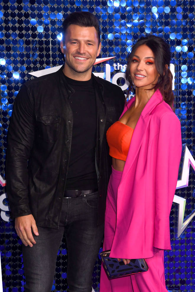 Mark Wright, pictured with his wife Michelle Keegan, shared some hilarious stories with Craig David