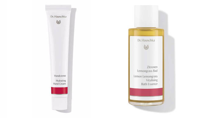 Dr Hauschka's Vitalising Bath Essence and Hydrating Hand Cream