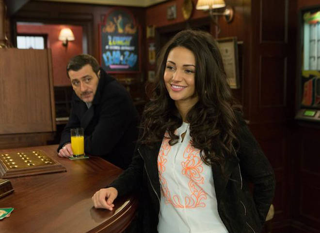 Michelle Keegan played Tina McIntyre on Coronation Street
