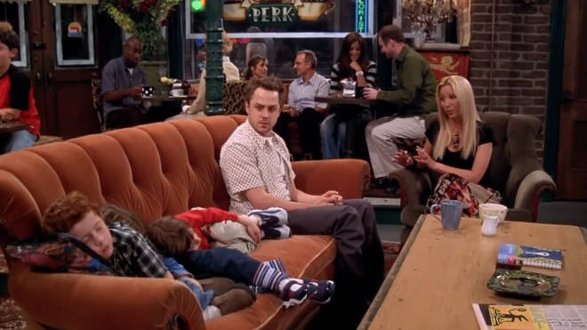 The siblings returned to the show in season six for a scene in the coffee house