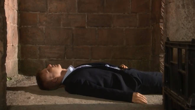 Harry was murdered by Breda in Hollyoaks