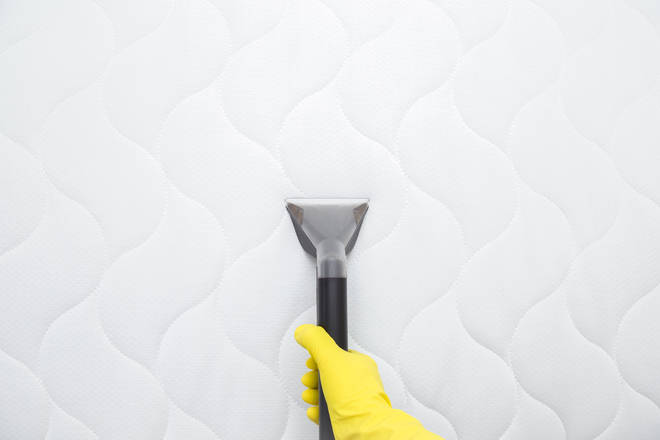 Experts recommend you clean your mattress weekly