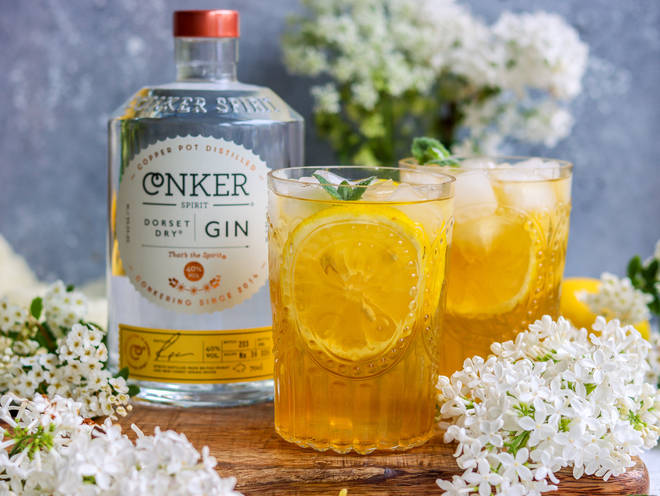 This iced tea is perfect for an evening in the garden