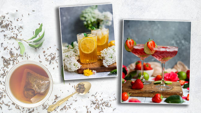 These tea-infused cocktails are a new way to enjoy a cuppa