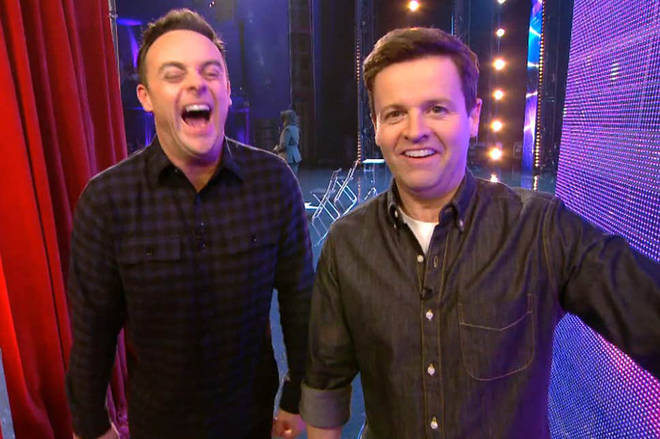 Ant and Dec filmed the auditions back in January