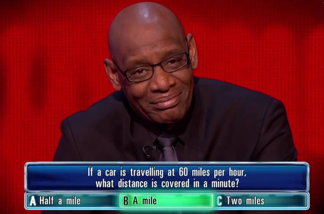 Shaun selected 'Two miles' instead of 'A mile'.