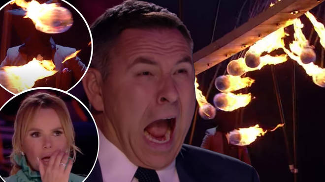 BGT judges could barely watch the terrifying stunt.