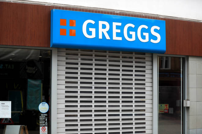 Greggs closed all their stores back in March when lockdown was announced