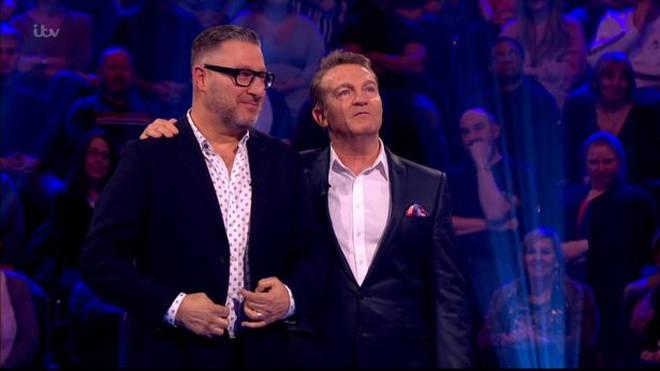 Bradley Walsh and contestant Bradley Kingston on last night's episode